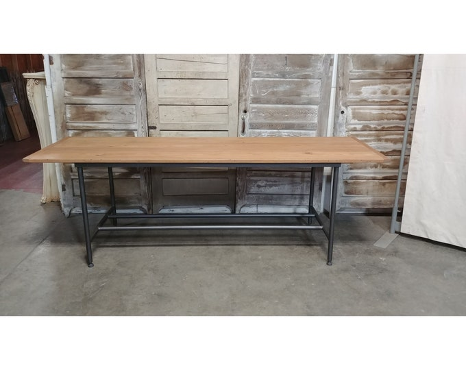 Wooden Top Work Table # 185284