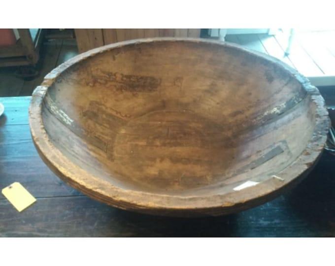 Ancient Turkish Dough Bowl # 182503