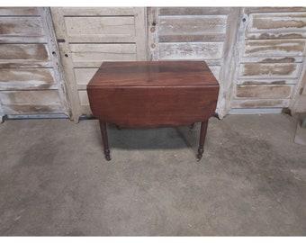 1860,S Mahogany Drop Leaf Table # 186694