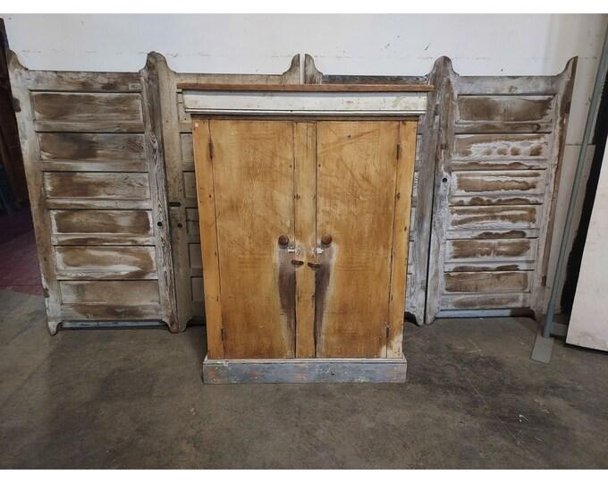 TWO DOOR CUPBOARD # 186628