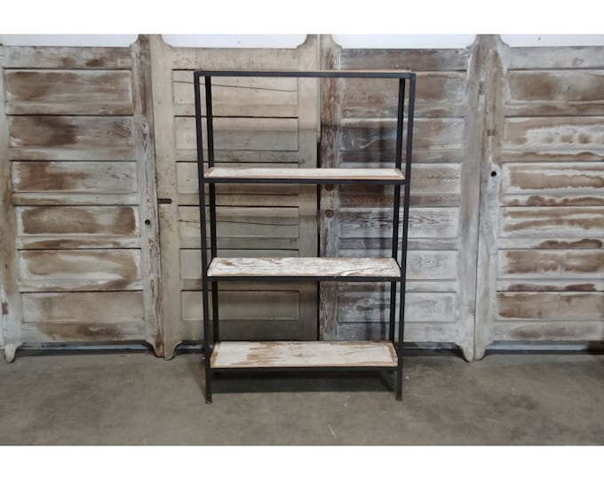 Iron And Wood Shelving # 185635