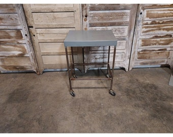 1920,S Steel Work Station On Casters # 186618