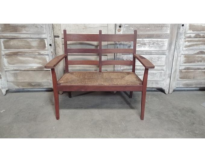 1890,S RUSH SEAT BENCH # 185938