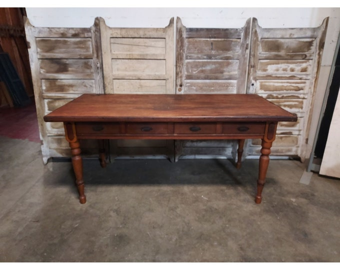 1860,S Four Drawer Work Table # 186429