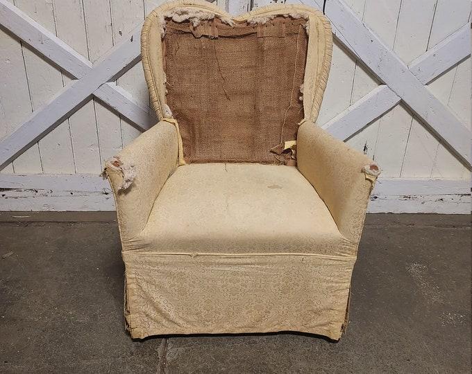 1890's Heart Framed Chair