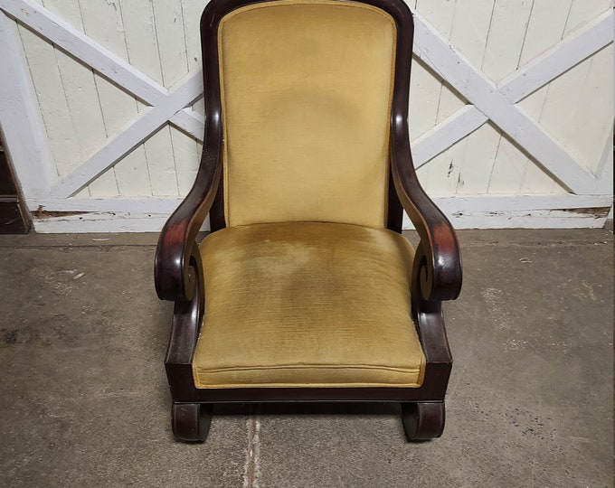 1850's Empire Arm Chair