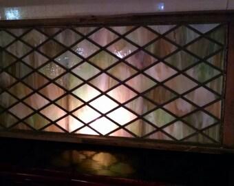 1880's Slag Glass Window