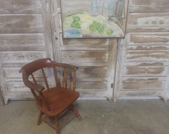 EARLY MAPLE CHAIR # 183179