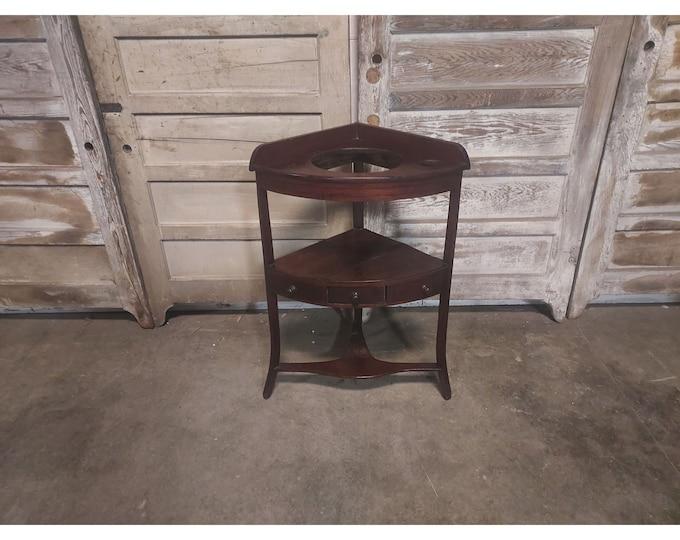 1840,S Mahogany One Drawer Washstand # 186648