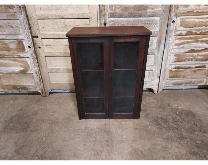 Simple 1900's Two Door Cupboard # 186602