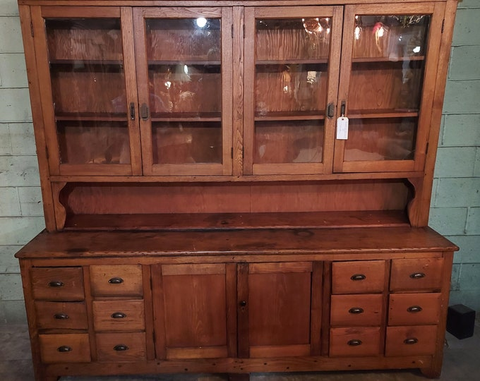 1850'S COUNTRY STORE CABINET # 186622