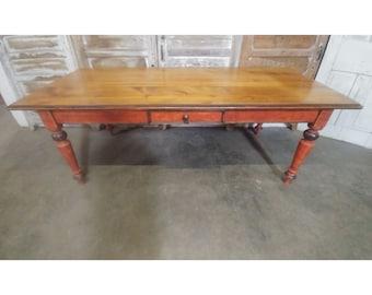 VINTAGE FARM TABLE # 184464