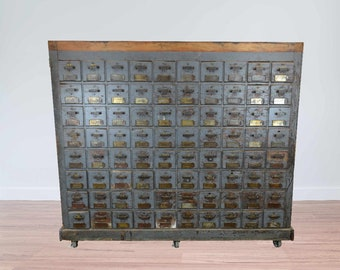 Amazing 160 Drawer Double Sided Cabinet # 184459