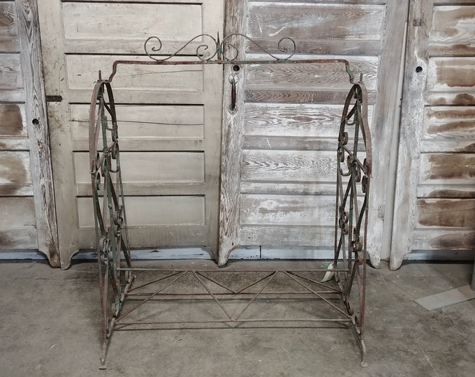 1860'S Hand Forged Sign Stand - 185323