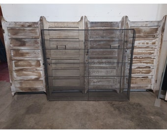 Large Wire Fire Screen # 180124