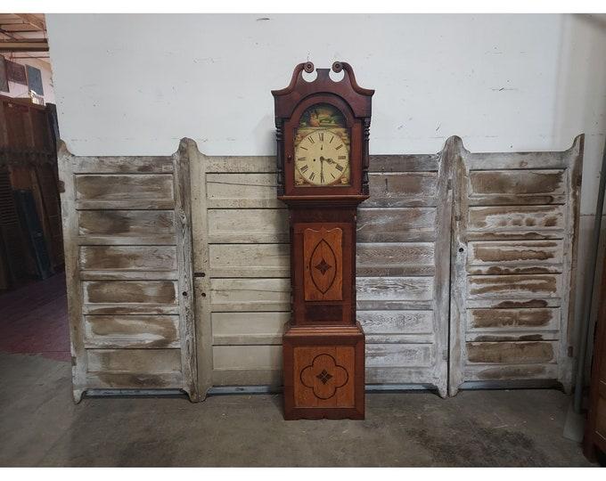 1830,S Mixed Wood Tall Case Clock # 186660