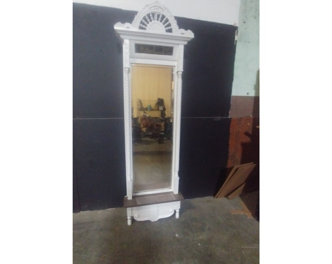 1850'S Mahogany Painted Pier Mirror # 183650