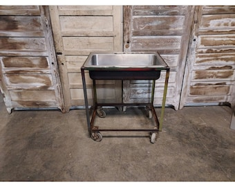 1920,S Steel Cart On Casters # 186617