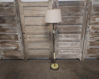1920,S Marble Floor Lamp Great Color # 186646