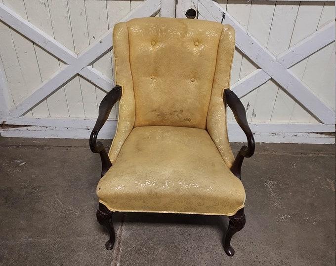 1920's Swan Arm Chair