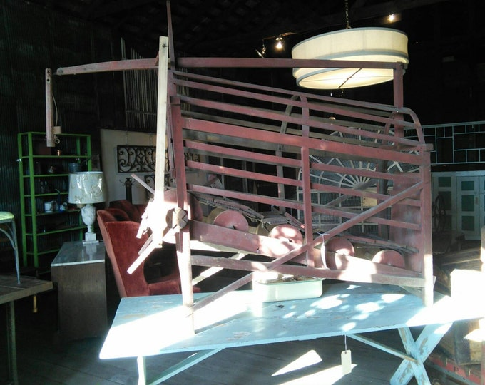 Rare One of A Kind Dog Treadmill To Churn Butter # 181996