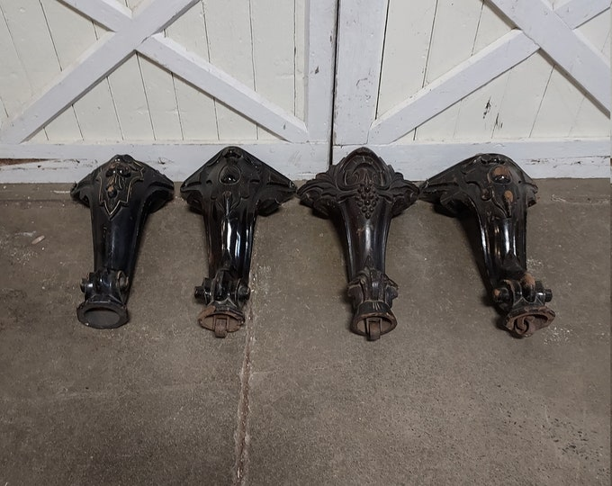 Set of Four 1860's Piano Legs #186459
