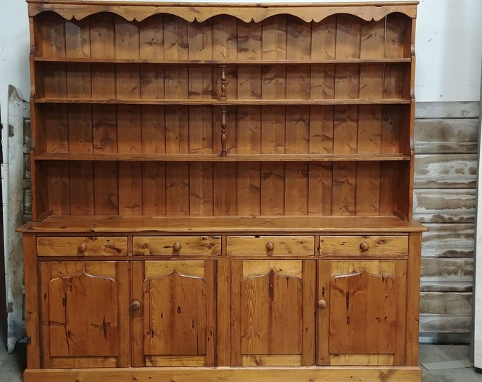 1880'S WELSH PINE CABINET # 185455