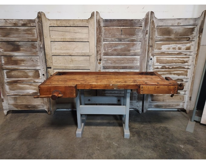 1900,S MAPLE WORK TABLE # 186412