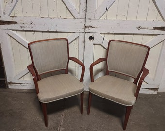 Pair of 1940's Armchairs