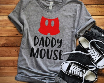Daddy mouse t-shirt - Disney dad t-shirt - Mickie mouse dad t-shirt - Short-Sleeve Unisex T-Shirt - Disney t-shirt - Disney trip shirt