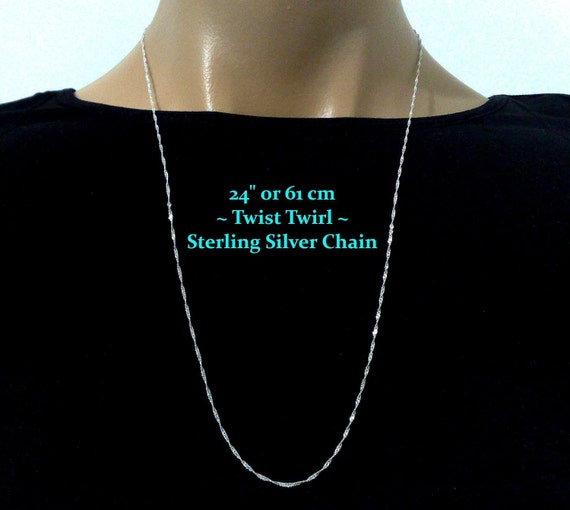 Italian Chain, Curb 250 Glitzs Jewels 925 Sterling Silver Necklace Jewelry Gift for Women and Girls