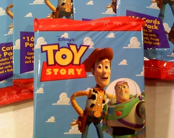Disney Toy Story Trading Cards- 1 Pack