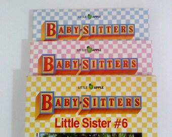 Books- Babysitters Club LITTLE SISTER, Set of 3