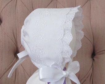 SALE Small Baby Easter Bonnet 7aff03292638