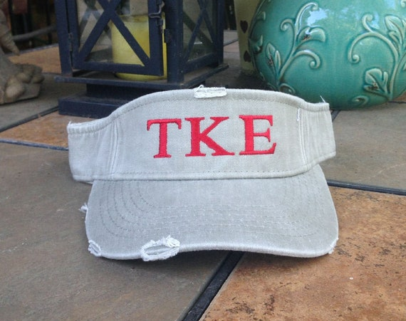 Tau Kappa Epsilon Distressed Visor
