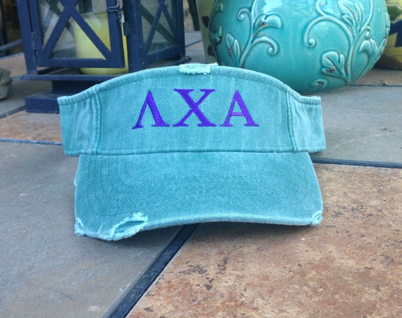 Lambda Chi Alpha Distressed Visor