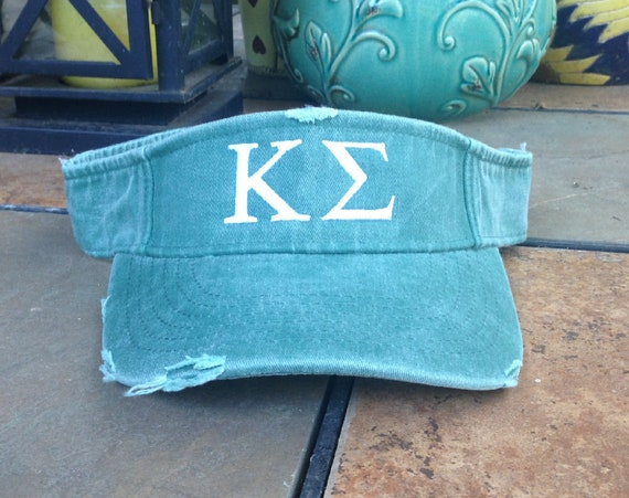 Kappa Sigma Distressed Visor