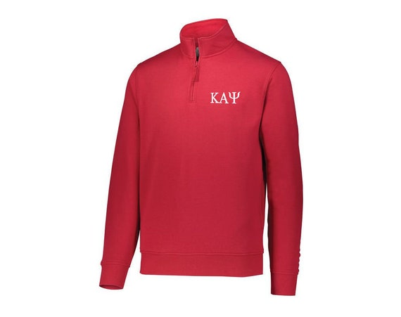 Kappa Alpha Psi Fleece Quarter Zip Pullover