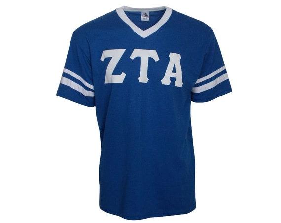 Zeta Tau Alpha - Stripe Sleeve T-shirt Jersey