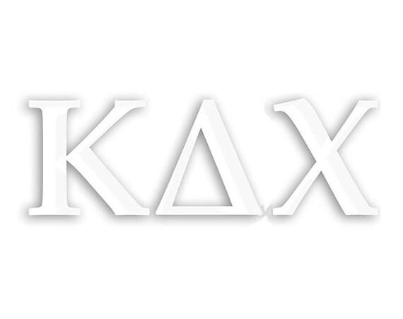 Kappa Delta Chi Window Decal