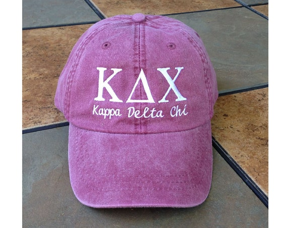 Kappa Delta Chi with script baseball cap