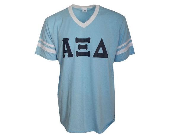 Alpha Xi Delta - Stripe Sleeve T-shirt Jersey