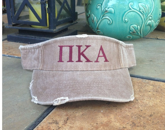 Pi Kappa Alpha Distressed Visor