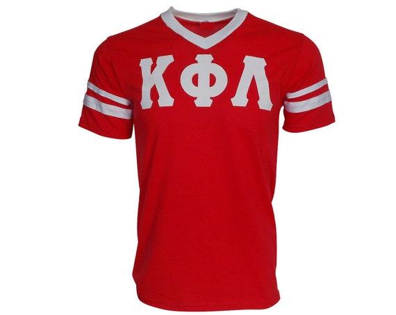 Kappa Phi Lambda - Stripe Sleeve T-shirt Jersey