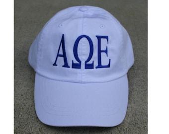Alpha Omega Epsilon baseball cap