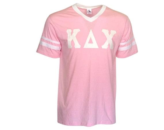 Kappa Delta Chi - Stripe Sleeve T-shirt Jersey