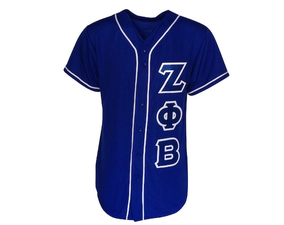 Zeta Phi Beta Custom Baseball Jersey