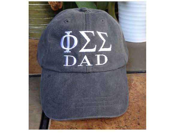 Phi Sigma Sigma / DAD baseball cap