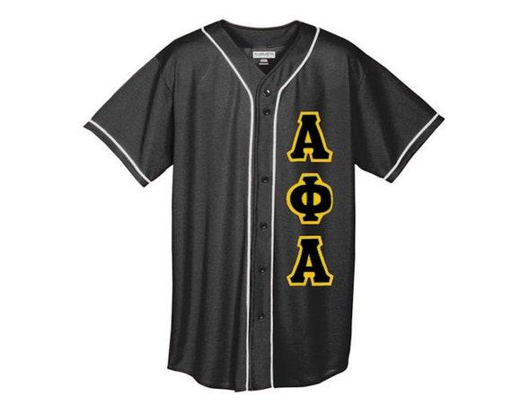 Alpha Phi Alpha - Baseball Jersey