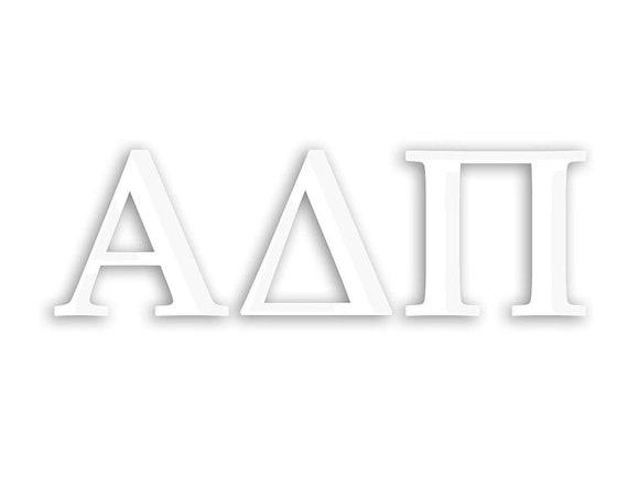 Alpha Delta Pi Window Decal